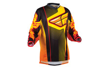 Fly Racing F16 LTD Jersey Men schwarz/orange/gelb